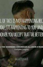 The shannara chronicles allanon x OC  by Introvert_Emily