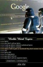 World's Weird Topics by Mik-abad-Mik
