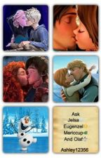 Ask Jelsa, Eugenzel, Mericup, Kristanna and Olaf by Ashley12356