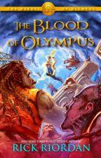 Percy Jackson (series 2)  5: Máu đỉnh Olympus - Rick Riordan by Alice_Greenley