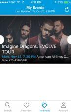 Imagine Dragons: Evolve Tour  by XstayXsaneX