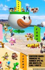 Survivor Mario- Winners Vs. Runner Ups Vs. Mid Boots Vs. Early Boots by Yoshimaster41
