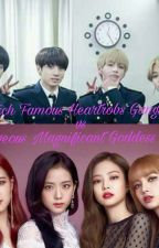 4 Rich Famous Heartrobs Gangster vs.4 Gorgeous Magnificant Goddess Nerds by korean_princess23