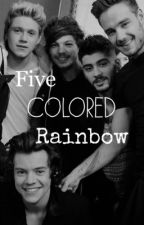 Five Colored Rainbow by Mer_Stylinson