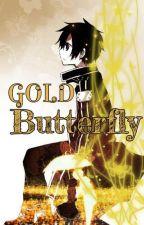 GOLD Butterfly by SakuraZala