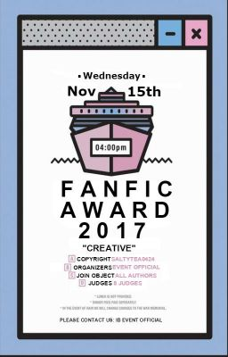 [Event_Official] Produce 101 Fanfic Award 2017