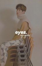 eyes ; markbam/got7 by nyungies