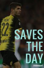 Saves the Day // Christian Pulisic by irisbouquet