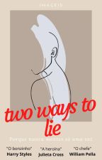Two ways to lie by Image1D
