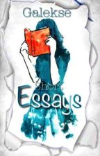 Essays  by Galekse