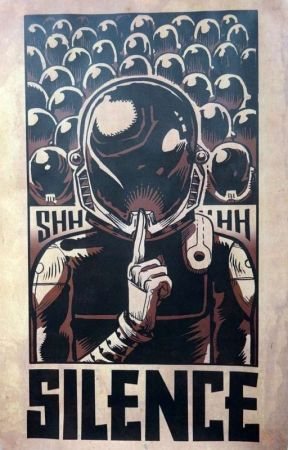 Silence by ThaisPujolOrtiz