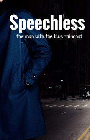 SPEECHLESS II - L'homme à l'imperméable bleu - Sous contrat d'édition Lips&Co by EmilieBrighton