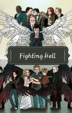 Fighting Hell by SilverWolf_Phoenix12