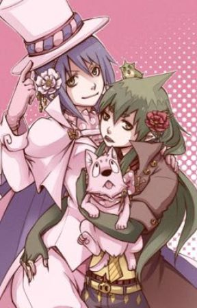 Sisters Conflict  ( Mephisto/Amaimon genderbend ) 🌸🎀🌸🎀🌸 by Cherub77