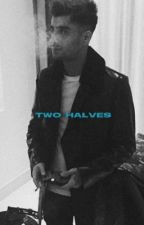 -TWO HALVES. by zeiiix