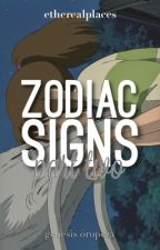Zodiac Signs   P2 by etherealplaces