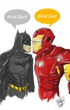 Stark and Wayne by Loki_Girl2