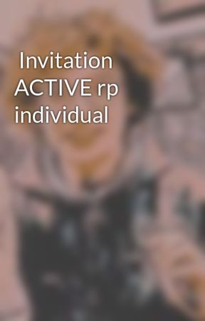 Invitation ACTIVE rp individual by Kid_of_Neptune