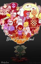 Black-Purple Soul | Undertale by BlackyLuna