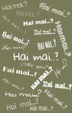 HAI MAI...? by silviapierantoni