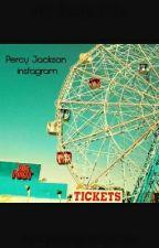 Percy Jackson Instagram by CrystalangelSuganuma
