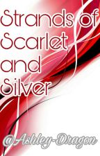 Strands of Scarlet and silver  by Ashley-Dragon