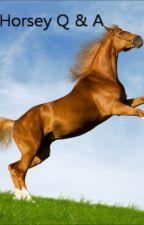 Horsey Q & A by farmersheart