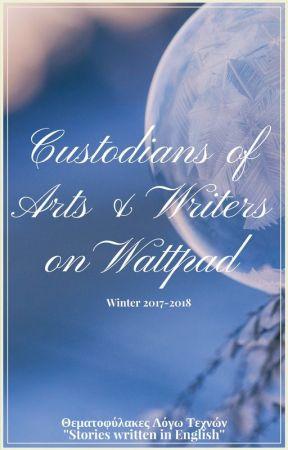Custodians of Arts & Writers on Wattpad by thematofylogotexnwn