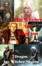 The Witcher and The Lion by insaneredhead