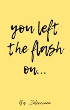 You Had The Flash On// ItaDei Mini Fanfiction  by Zalennn