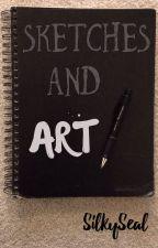 Art Book #1 by SilkySeal