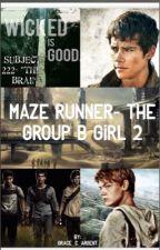 Maze Runner-The Group B girl 2 by Grace_C_argent