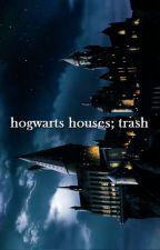 Hogwarts Houses; trash by AdelaideDia
