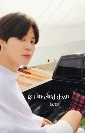 get knocked down ( vmin. ) by laetas