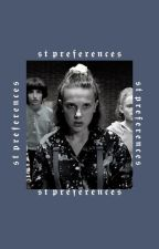 stranger things preferences [requests open] by -coreyshain