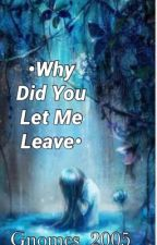•Why Did You Let Me Leave• (COMPLETED) by Gnomes_2005