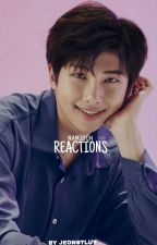 Namjoon ➳ reactions by JeonStluy