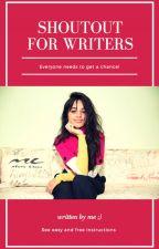 SHOUTOUT 4 WRITERS 3 by shoutout4writers