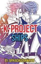 K-project ships by Apikachucanwrite