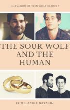 The sour wolf and the human by Plume_2014
