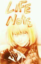 Life Note ✒ Death Note A.U fanfic ✒ L x Light by -warfstache