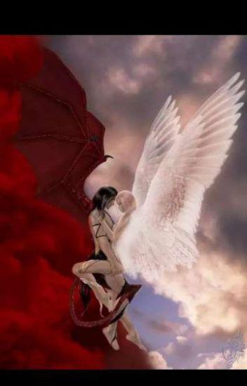 ангел и демон любовь картинки