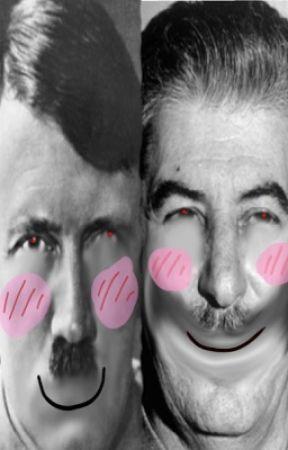Hitler X Stalin by CheezbalzHunter