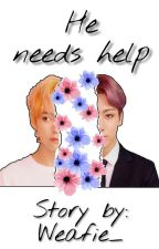 He needs help °taekook° by -bloodysmile-