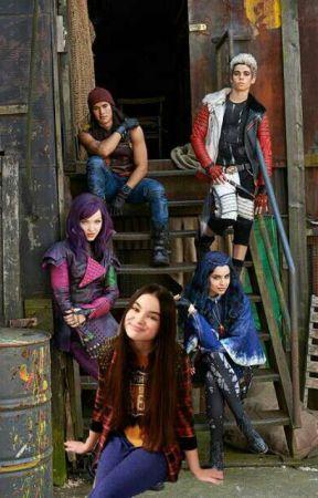 Disney Descendants by Maya_Rose_Fairy
