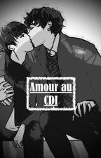 Amour au CDI by Galaxy-boy