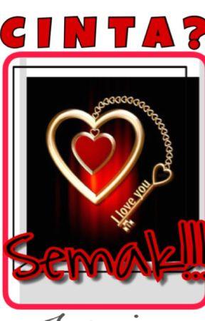 Cinta? Semak! by marisinc