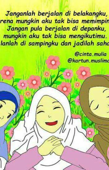 670 Gambar Kartun Islami Wanita HD Terbaik
