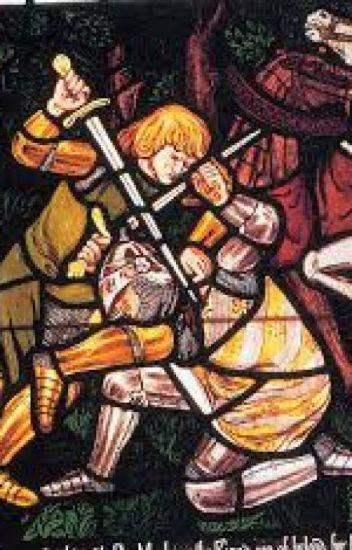 Resultado de imagen de tristan combat avec le morholt