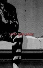 Write your name (TK) by daegu97